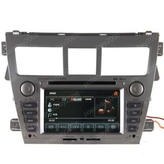 TOYOTA YARIS SEDAN Car GPS Navigation System DVD Player