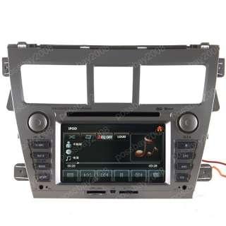 TOYOTA YARIS SEDAN Car GPS Navigation System DVD Player