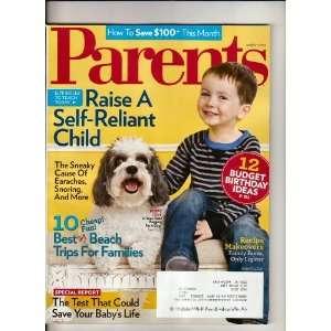 Parents Magazine March 2010 Unknown Books