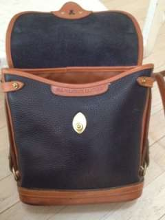 Dooney and Bourke AWL Navy pebbled leather handbag Medium size purse
