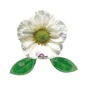 White Flower Shape 12 Air Filled Cup & Stick Included