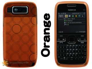 SOFT CRYSTAL FLEX HYBRID SILICONE GEL SKIN CASE COVER NOKIA E72
