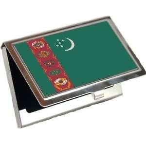 Turkmenistan Flag Business Card Holder