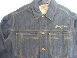 Mens Sean John Denim Jean Jacket Size Medium