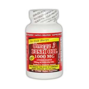 Pure 3 Omega 1000 mg + Active EPA/DHA 300mg Enteric Coated