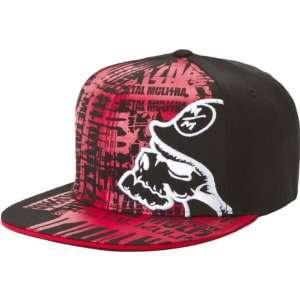 Metal Mulisha Rank Mens Flexfit Casual Wear Hat/Cap w/ Free B&F Heart