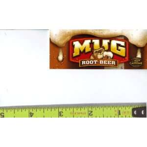 Magnum, Small Rectangle Size Mug Root Beer Logo Soda Vending Machine