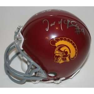 McKnight Autograph USC Mini Helmet w/ Display Case Everything Else