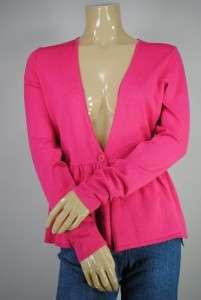 New Grace Elements 1 Button Cardigan Sweater Sz M $59