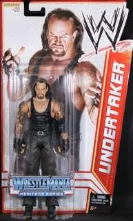 UNDERTAKER   WWE SERIES 16 WRESTLEMANIA HERITAGE MATTEL TOY WRESTLING