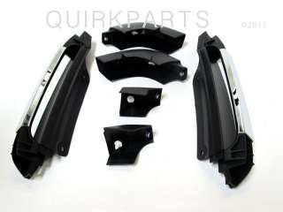 2006 2010 Jeep Commander Rear Grab Handles Chrome LIMITED STYLE MOPAR