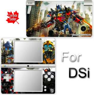 Transformers Optimus Prime Bumblebee NEW SKIN for DSi