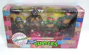 TEENAGE MUTANT NINJA TURTLES 1992 Rare 4 Pack MISB