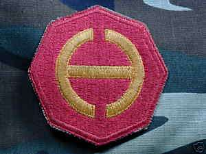 old WWII U.S. Army Hawaiian Command shoulder patch