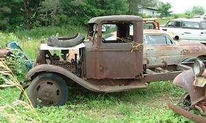 1933 Ford Model 46 V8 flathead truck Rat Hot Rod