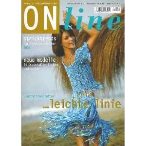 On line Knitting Trends #8 (Spring/Summer) Online Books