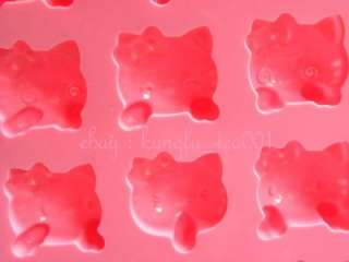 16p Sanrio Hello Kitty Comical Expression Silicone Ice Chocolate Mini