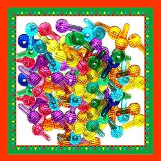CERAMIC CHRISTMAS TREE LIGHT 20 ROUND FACET GLOBE BULBS