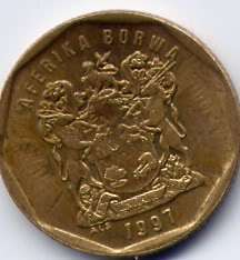 South Africa 20 Cents, 1997