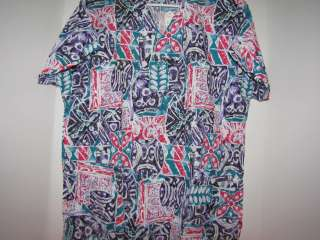 BRAND NEW NURSES UNIFORMS SCRUBS TOPS XS 3XL V NECK, MULTI COLORS 2