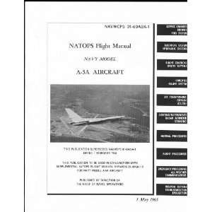 North American Aviation A 5 Aircraft Flight Manual Sicuro