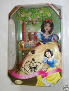NIB Disney Princess Snow White Bass Key Porcelain Doll