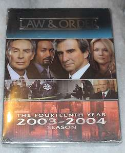 Law and Order   Complete Fourteenth Season Series 14   DVD NEW