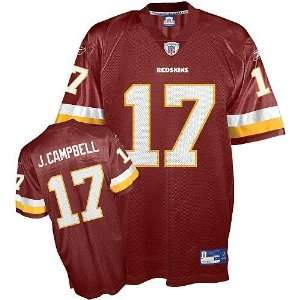 com Jason Campbell #17 Washington Redskins Nfl Replica Player Jersey