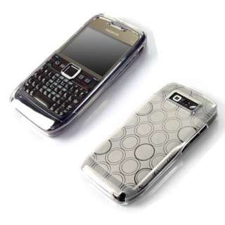 Clear Soft Circle Gel Skin Cover Case Mask For Nokia E71 E 71