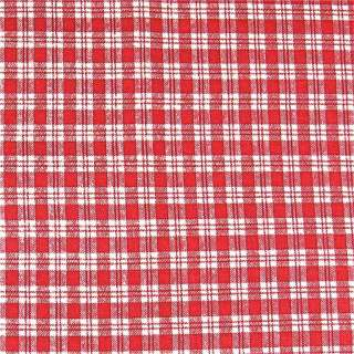 Cotton Classics Fabric Vintage Red & White Plaid FQs