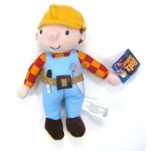 9 BOB THE BUILDER PLUSH DOLL TOY   (FACTORY NEW