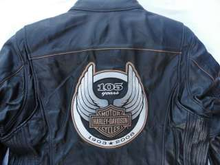 NEW***Harley Davidson Limited Edition 105th Anniversary Leather