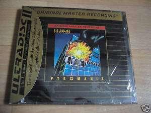 DEF LEPPARD Pyromania RARE MFSL 24k GOLD DISC CD SEALED