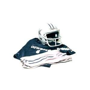 Dallas Cowboys Youth NFL Team Helmet and Uniform Set by