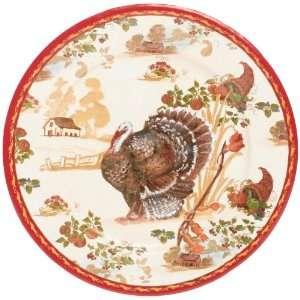 Caspari Homestead Paper Dinner Plate Package