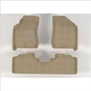 L1CD00202202 CADILLAC SRX 2010 2011 Beige CLASSIC Molded Floor Mas
