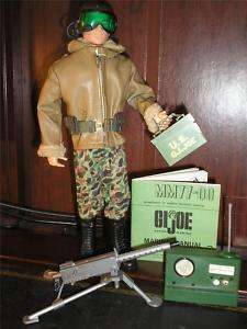 VINTAGE GI JOE ACTION MARINE TANK COMMANDER SET #7731