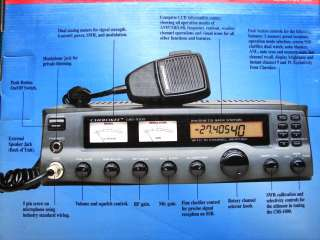 Cherokee CBS 1000 AM/SSB CB Base Station Transceiver NIB 742486101122
