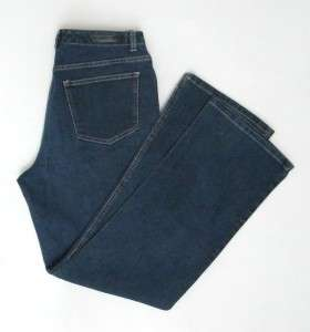 GLORIA VANDERBILT Dark Rinse Boot Cut Stretch Jeans Size 12