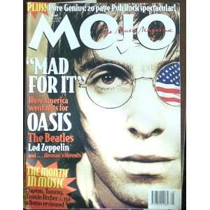 Mojo Magazine Issue 30 (May, 1996) (Oasis cover) Oasis