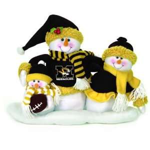 Tigers Plush Snowman Family Christmas Decoration