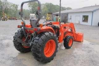 2005 KUBOTA L4630 4X4 TRACTOR WITH LOADER, VERY NICE