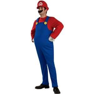 SUPER MARIO BROS   DELUXE ADULT MARIO   OFFICIAL LICENSED