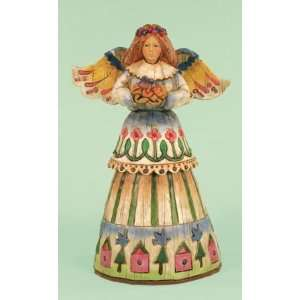 Enesco Jim Shore Angel of Love Bird Nest Everything Else