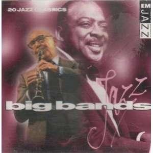 VARUOUS CD UK EMI 1995 BIG BANDS 1948 1968 Music