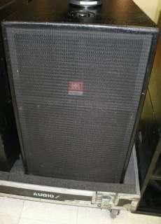 Used JBL/TAVS 15 speaker systems w/case   Nice pair