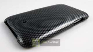 CARBON FIBER Hard Case Cover iPod Touch 2 3 2nd 3rd Gen