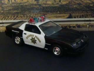 California HIGHWAY PATROL 92 Chevy Camaro 1/64 Scale Ltd Edit 3
