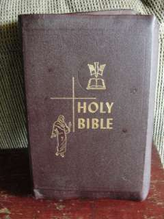 OLD,NICE,1950 HOLY BIBLE,EDITION TO THE CATHOLIC BIBLE,