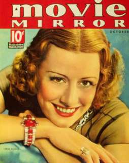 Irene Dunne   Movie Mirror Magazine Cover 1930s Masterprint at